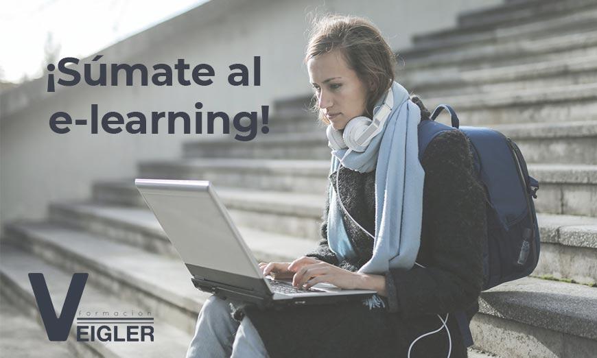 Descubre las ventajas del e-learning y estudia con Veigler Formación