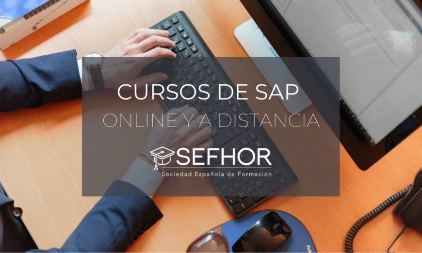 Cursos de SAP online y a distancia